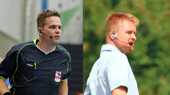 Referees take more correct and faster decisions with communication system
